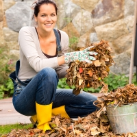 Turning Yard Waste Into Food For Plants!