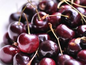 Market Haul: Black Cherries