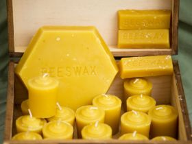 Market Haul: Beeswax Candles