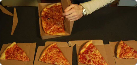 go green eco-friendly pizza box